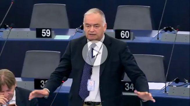 Bronca en el Parlamento Europeo entre el PP y la extrema derecha aliada del referéndum ilegal