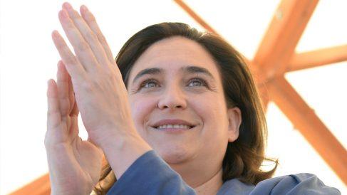 Ada Colau, alcaldesa de Barcelona. (Foto: AFP)