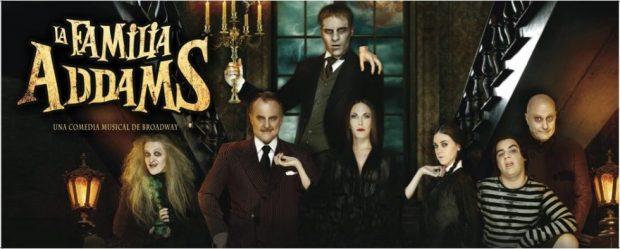 Cartel de 'La Familia Addams El Musical'.