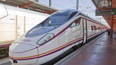 Tren de Renfe, que subirá las tarifas un 1%.