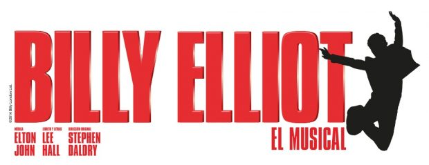 Cartel de 'Billy Elliot El Musical' con música de Elton John.