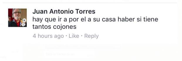 Albiol denuncia amenazas de muerte de independentistas en Twitter