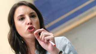 La portavoz de Unidos Podemos, Irene Montero (Foto: Efe)