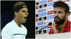 Rafa Nadal y Gerard Piqué.