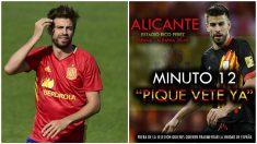 Se movilizan en Alicante para pitar a Gerard Piqué.