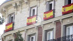 Banderas de España en Madrid (Francisco Toledo)
