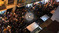 Manifestación en Pineda de Mar