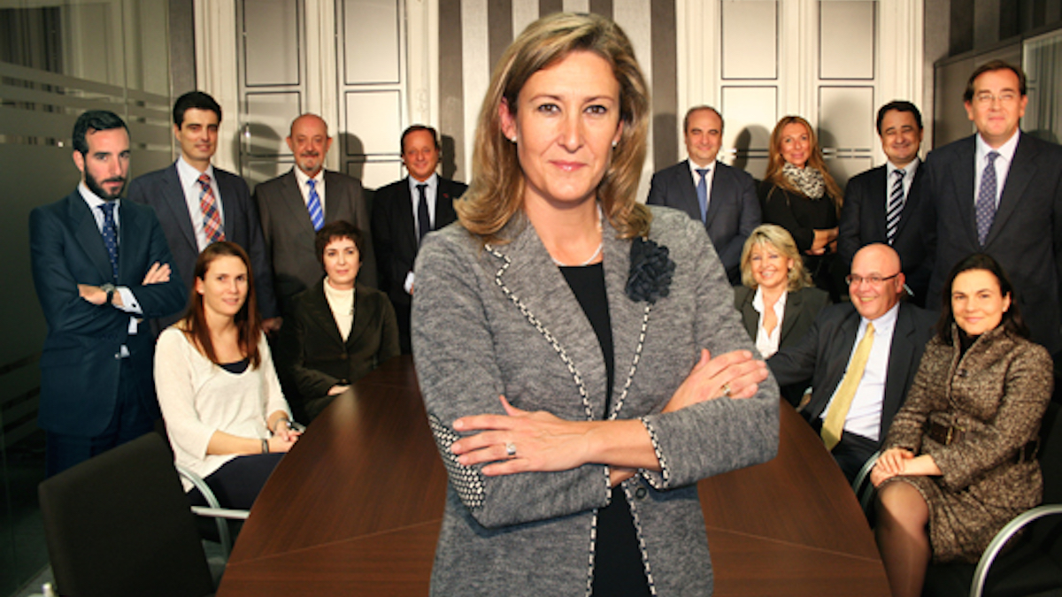 Sonia Gumpert, decana del Colegio de Abogados de Madrid, ICAM.