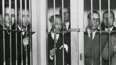Lluís Companys en prisión.