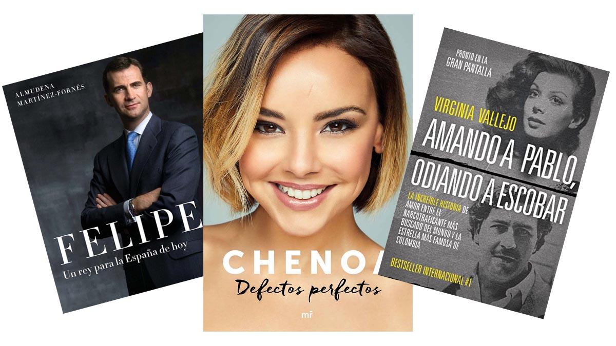 Chenoa, Pablo Escobar, el rey Felipe VI… Las biografías están de moda y aquí te mostramos algunas de las mejores de las publicadas este año