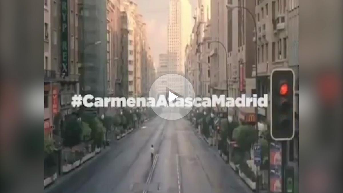 Manuela Carmena atasca Madrid.