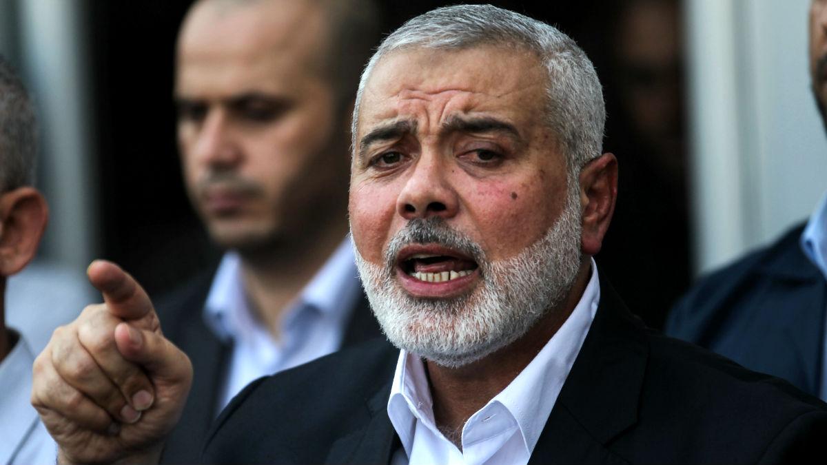 El líder de Hamas Ismail Haniyeh (Foto: AFP).