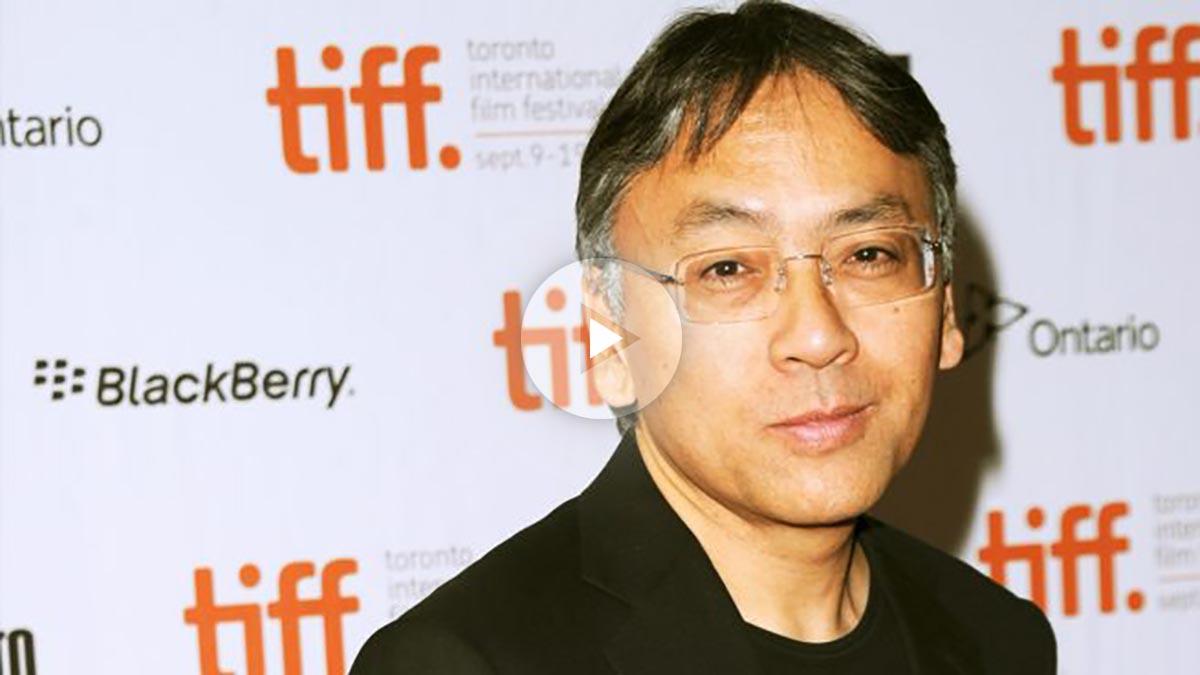 Kazuo Ishiguro, premio Nobel de Literatura 2017. (Foto: AFP)