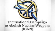 Premio Nobel de la paz para la campaña contra las armas nucleares.