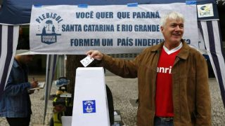 Referéndum independentista en Santa Catarina, Rio Grande do Sul y Paraná (Brasil).
