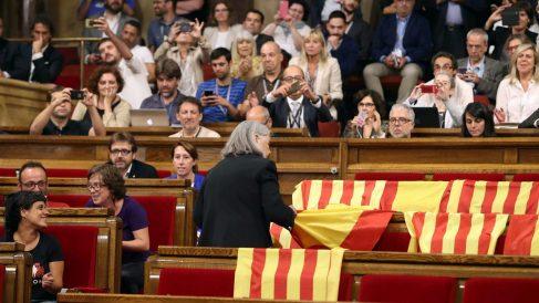 Desafío independentista en Cataluña (Foto. Getty)
