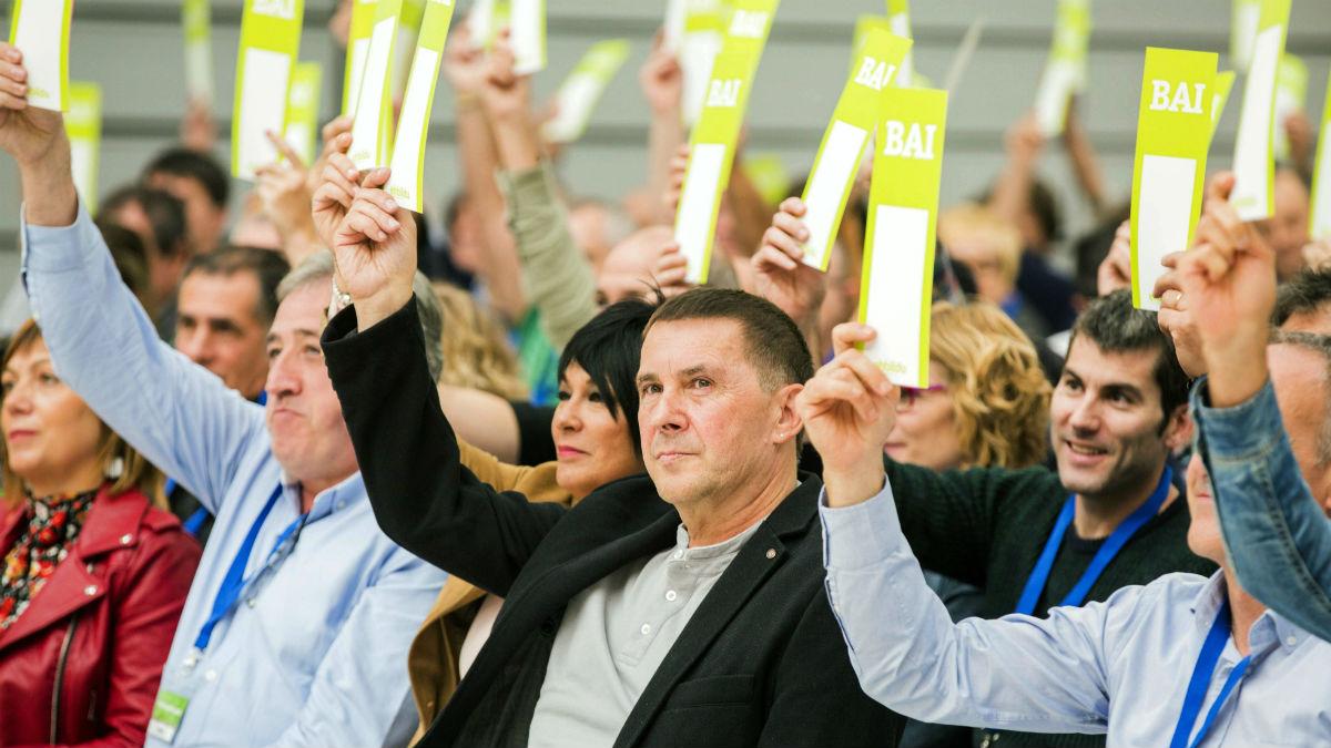 Convención de Bildu (EFE).
