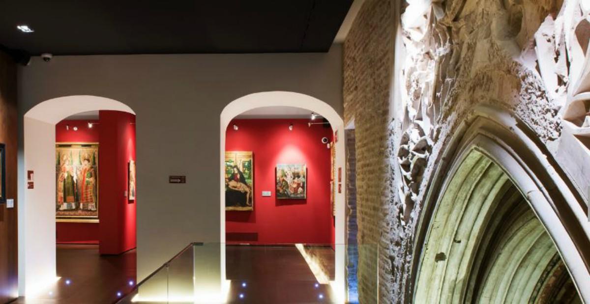 Exposición sobre el Palacio de los Reyes de Aragón