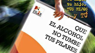 Campaña 'que el alcohol  no tumbe tus Pilares'