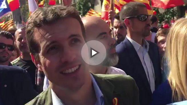Pablo Casado para OKDIARIO: «Espero que alguno tome nota de que España no se rompe»