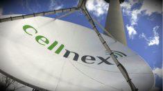 Una de las antenas de la compañía de telecomunicaciones Cellnex.