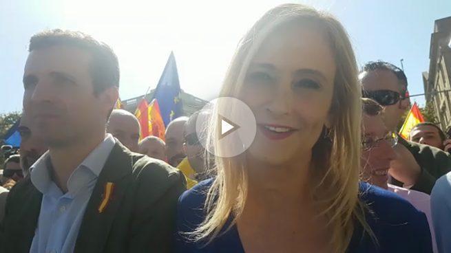 Cristina Cifuentes a OKDIARIO: «Puigdemont no puede dar ese Golpe de Estado que quiere dar»