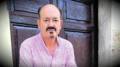 El profesor retirado y escritor Germán Díez.