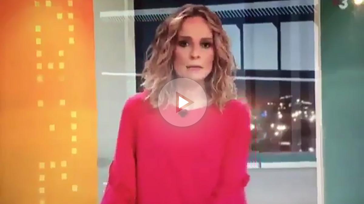 La noticia ofrecida el sábado en el informativo de TV3.