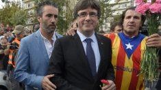 Carles Puigdemont, presidente de la Generalitat de Cataluña (Foto. Getty)