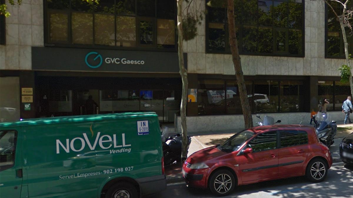 Oficinas de GVC Gaesco en Barcelona (Foto:GVC Gaesco)