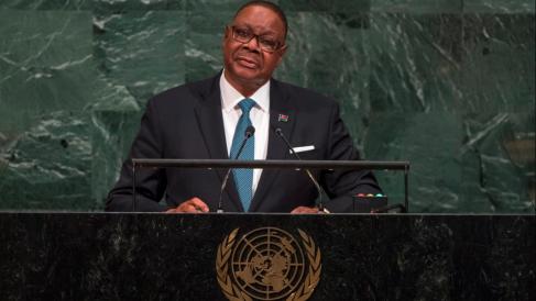 Peter Mutharika, presidente de Malaui