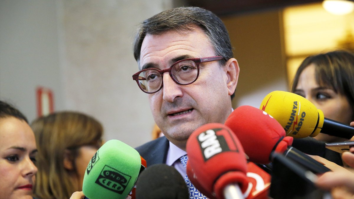 Aitor Esteban. (Foto: EFE)