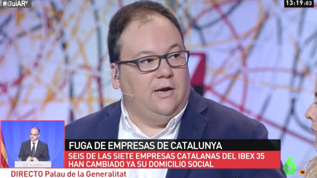 El subdirector de 'Nació Digital', Ferran Casas, en 'Al Rojo Vivo'