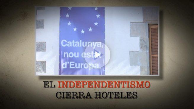 Independentistas de Calella: «Fuera de servicio que vengan cuando quieran, si no, del Ebro para abajo»