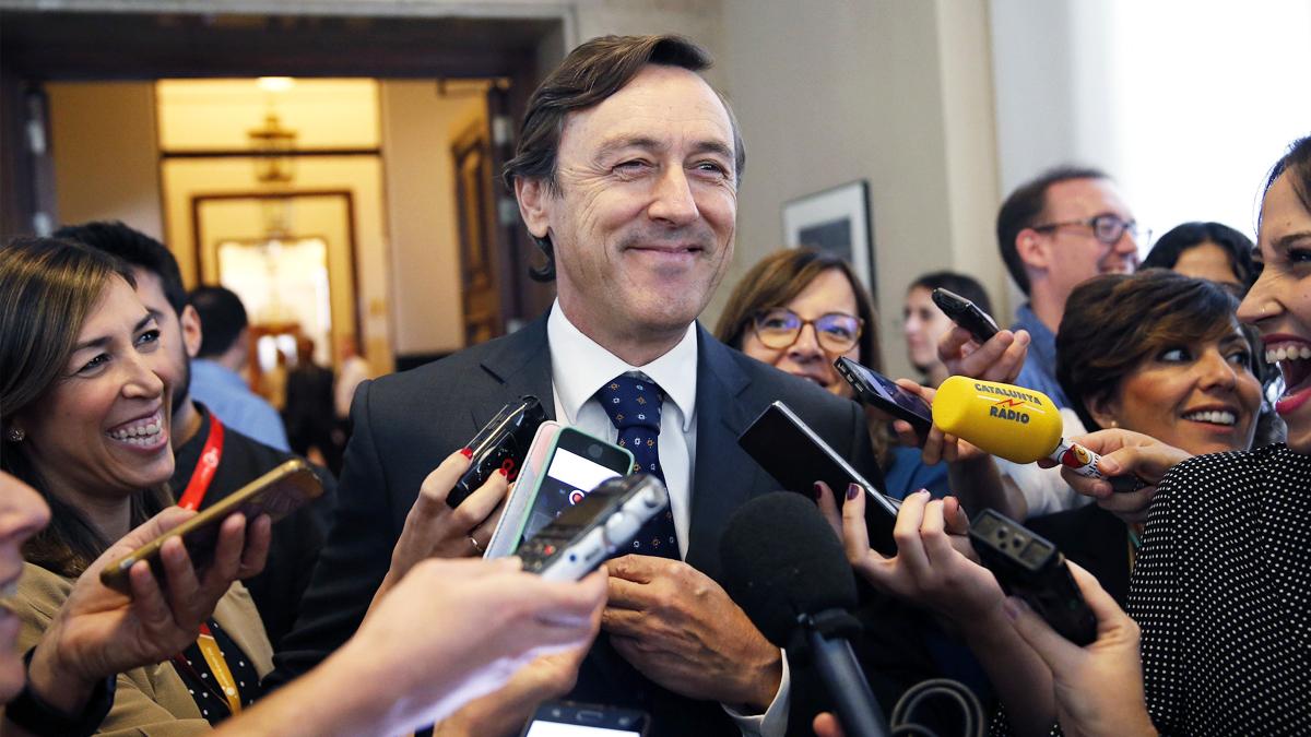 Rafael Hernando, portavoz parlamentario del PP. (Foto: EFE)