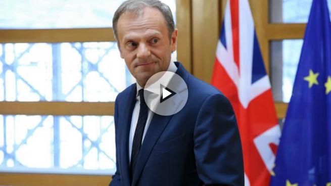 Donald Tusk, presidente del Consejo Europeo tras recibir la carta que activa el 'Brexit' (Foto: Getty)