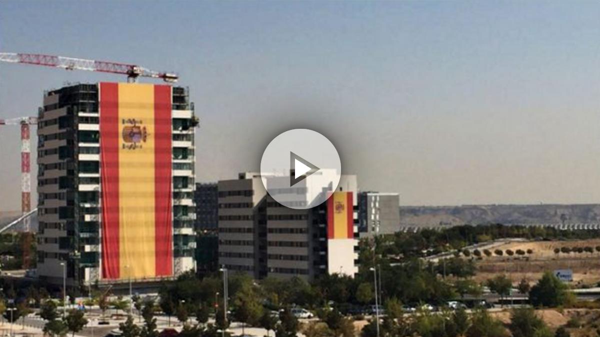 La bandera de España más grande del mundo (tw)