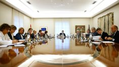 Mariano Rajoy al frente del Consejo de Ministros.