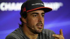 La próxima aventura de Fernando Alonso fuera de la Fórmula 1 podrían ser las 24 horas de Daytona. (Getty)