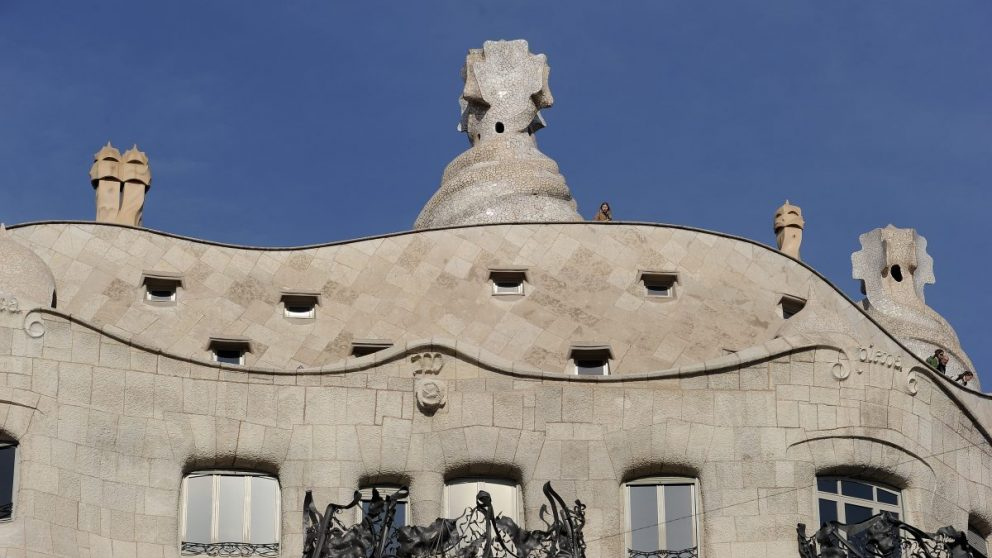 Casa Milá de Antoni Gaudí en Barcelona. Uno de los principales atractivos turísticos de la ciudad condal. (Foto. Getty)