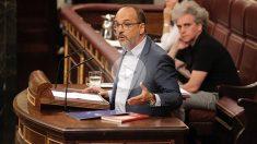 Carles Campuzano, portavoz del PDeCAT en el Congreso de los Diputados. (Foto: Francisco Toledo)