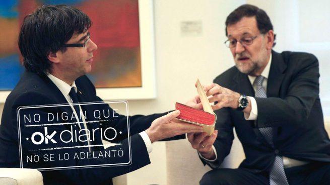 Rajoy da 2 opciones a Puigdemont: reforma constitucional limitada o detención si consuma la ruptura