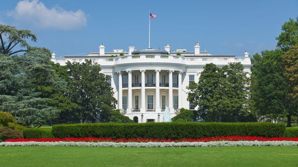 La Casa Blanca es la residencia oficial del Presidente de los Estados Unidos.