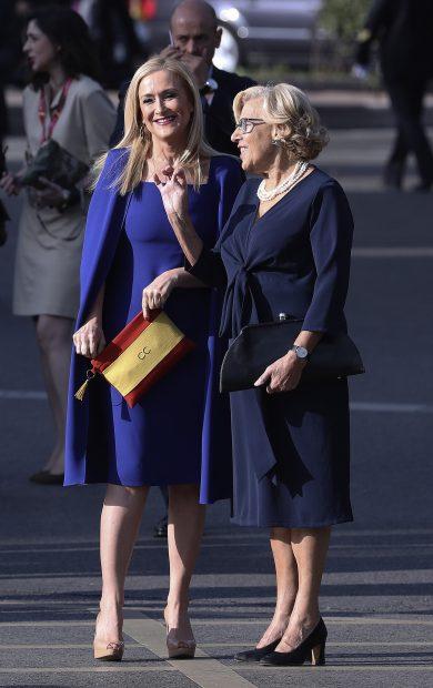 Cristina Cifuentes y Manuela Carmena