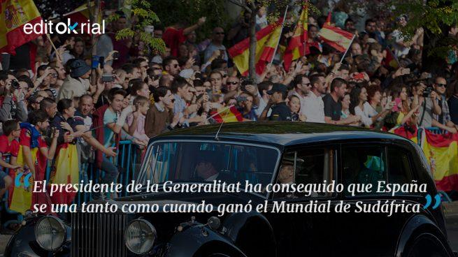 Puigdemont pone la españolidad otra vez de moda
