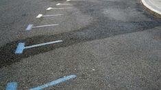 Un parking de Madrid vacío durante la activación del protocolo anticontaminación escenario 2 que el Ayuntamiento de Madrid ha puesto en marcha. Foto: EFE