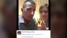 David Rodríguez Naja, uno de los tuiteros que celebró la muerte del militar