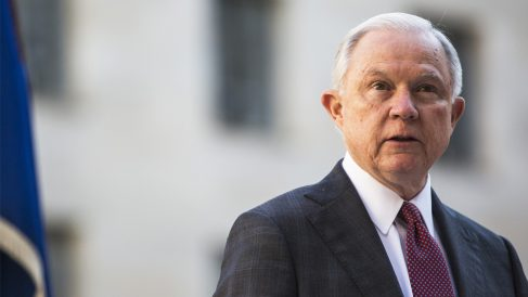 Jeff Sessions, fiscal general de EEUU. (Foto: AFP)