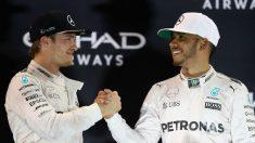 Niki Lauda ha confirmado que el ambiente en Mercedes durante la temporada 2016 era irrespirable entre Hamilton y Rosberg. (Getty)