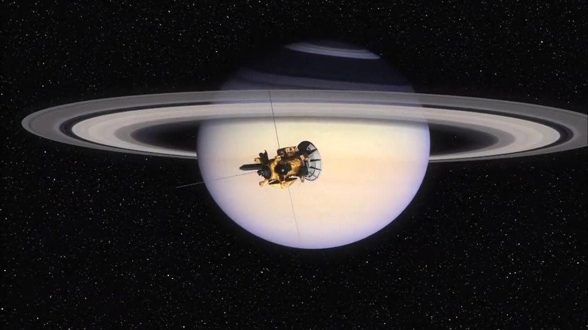 Este año, la sonda Cassini cumplió 10 años desde su lanzamiento.